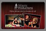 Custom Dinner and a Movie Card
