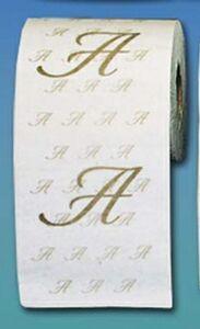 Custom Imprinted Toilet Paper Rolls