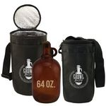 Premium Non-Woven Polypropylene Insulated Barrel Bag (Single Growler Bag)