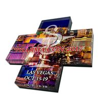 6 Square Inch Full Color Acrylic Paper Weight