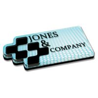 "1/2"" Acrylic Paper Weight (Up to 12 Square Inch)"