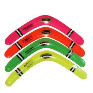 Custom Imprinted Plastic Boomerangs
