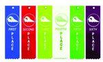 Custom Standard Swim Award Ribbons