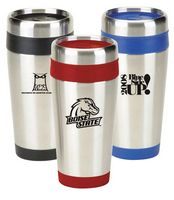 16 Oz. Non Skid Base Travel Tumbler