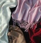 Custom Pashmina Cashmere Silk Blend Scarf