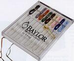 Custom Ten Thread Sewing Kit in Hard Plastic Slide Top Case