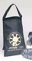 Nylon Shoe Bag w/ Vinyl Backing