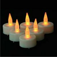 LED Candle with logo