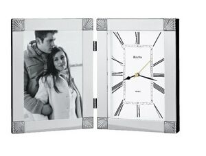 Ceremonial Desk Clock And Picture Frame B1254 Ideastage