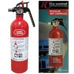 Custom Hazmat Vehicle Extinguisher