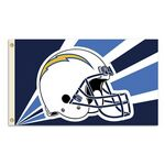 Officially Licensed NFL- San Diego Chargers Team Flag