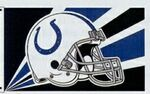 Officially Licensed NFL- Indianapolis Colt Team Flag