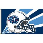 Officially Licensed NFL- Tennessee Titans Team Flag