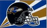 Officially Licensed NFL- Baltimore Ravens Team Flag