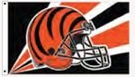 Officially Licensed NFL- Cincinnati Bengals Team Flag