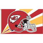 Officially Licensed NFL- Kansas City Chiefs Team Flag