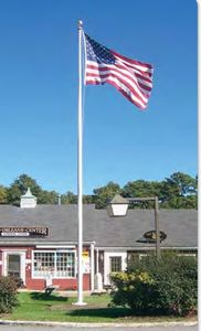 30 Ft Commercial Internal Fiberglass Flagpole 745360 Ideastage Promotional Products