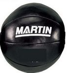 9 Lb. Genuine Leather Medicine Ball