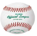 Official League Baseball w/Genuine Leather Cover