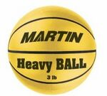 Official Weighted Yellow Training Basketball