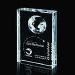 Custom Ambassador Globe Award - Optical 3