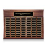 Custom Sedgewick Perpetual Plaque - Walnut 77 Plate