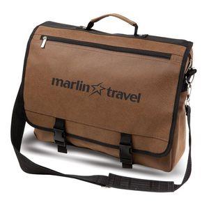 The Ageless Messenger Bag - Angolan Leather