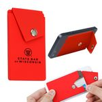 Custom The Attendant Phone Wallet/Stand - Red