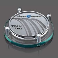 Montclair Coasters - Set of 2 (Sublim Silver)