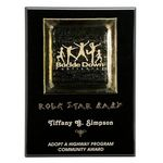 Custom Gold Fusion Plaque - 9