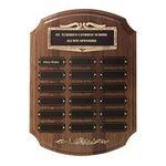 Custom Antique Bronze Pert Plaq - 18 Plate 11