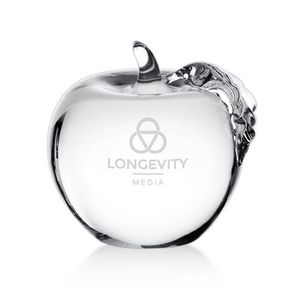 Apple with Clear Leaf 2¾