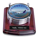Waterbury Coasters - Set of 4 Chrome (Sublim Color)
