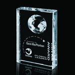 Custom Ambassador Globe Award - Optical 4