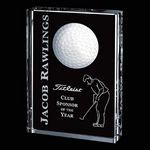Custom Pennington Golf Award - Optical 6