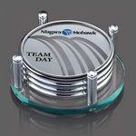 Montclair Coasters - Set of 4 (Sublim Silver)