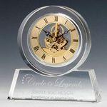 Custom Tondo Clock - Optical 6