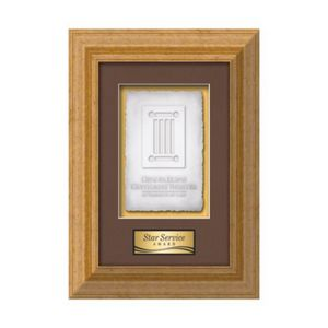Terrene Cast Paper Vert - Antique Gold 12½x16
