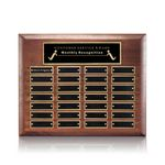 Custom Sedgewick Perpetual Plaque - Walnut 28 Plate