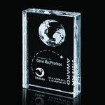 Custom Ambassador Globe Award - Optical 5