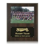 Custom Photo Plaque - Walnut Finish 9