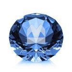 Custom Optical Gemstone - 3-1/8