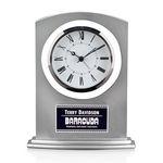 Custom Tuxedo Clock - Silver 7