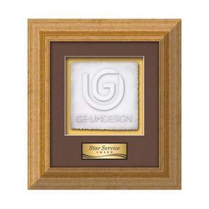 Terrene Cast Paper Square - Antique Gold 11½x13