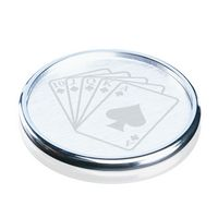"Bernwood Coaster - Chrome 4"" Diam"