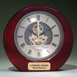 Custom Michaelangelo Clock - Rosewood 8