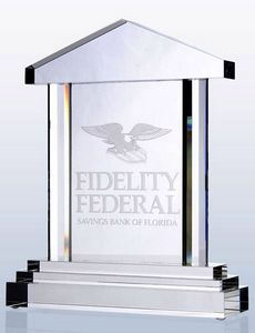 House of Justice Optic Crystal Award