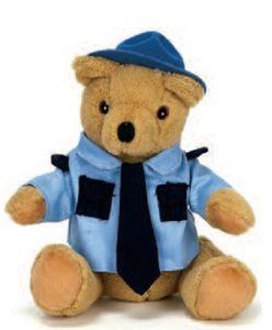 10 Trooper Bear Uniform Stuffed Animal