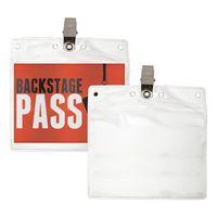 Blank Clear ID/Badge Holder (5