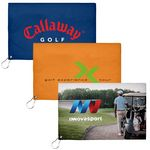 Custom 17x11 Sublimated Golf Towel - 200GSM (15-20 Day Service)
